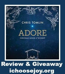 Adore Christmas CD by Chris Tomlin #giveaway