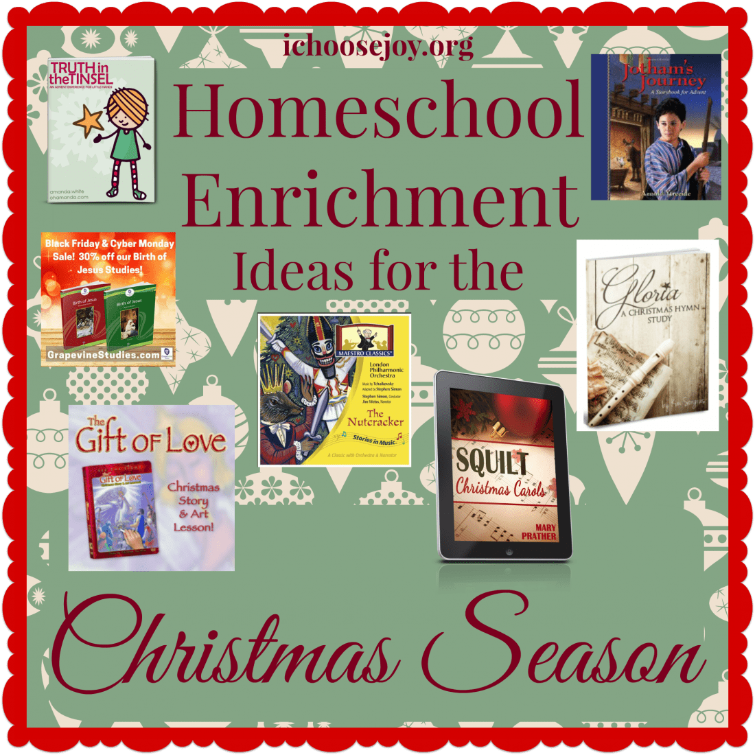 Homeschool Enrichment Ideas for the Christmas Season