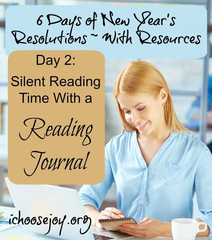 Silent Reading Time with a Reading Journal