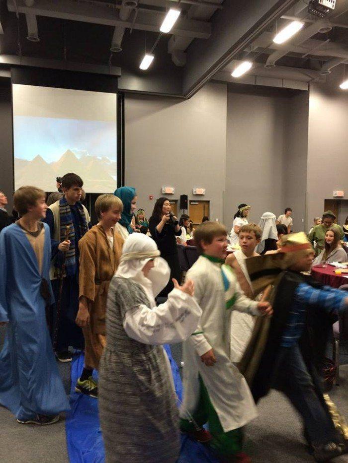 Israelites on the Exodus