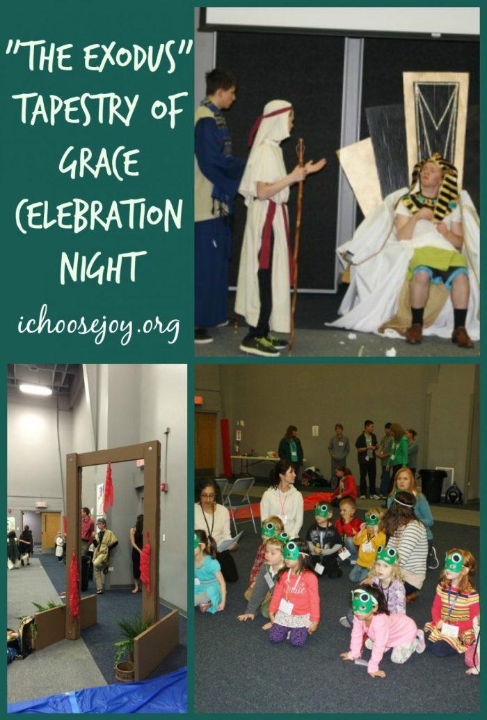 """The Exodus"" Tapestry of Grace Celebration Night"
