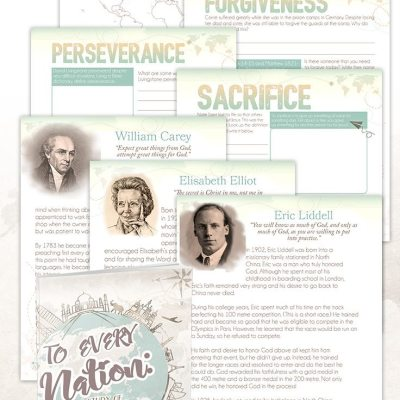 Awesome New Missionary Study: To Every Nation