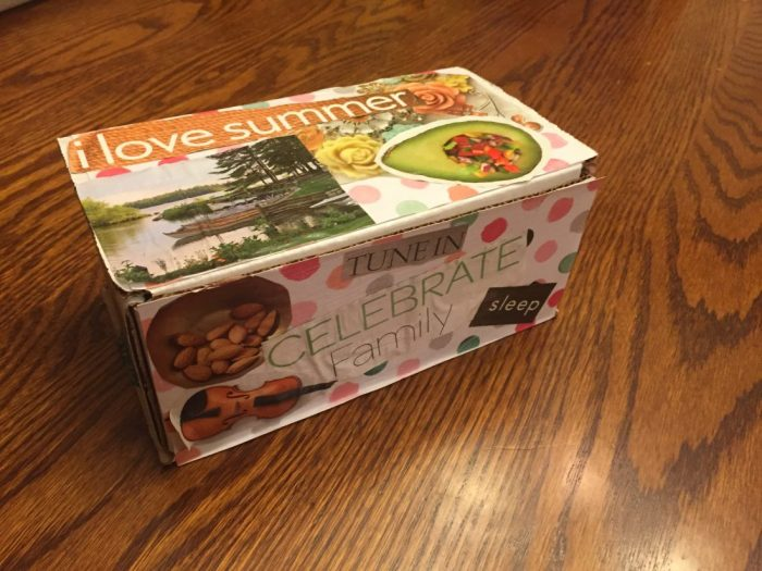 How to Make an Encouragement Box, a craft project we did at our church, but you can do this at home or anywhere! Give the encouragement box to those who are sick, in the hospital, just had a baby, graduates, Mother's Day, etc. Put Bible Verses in the Encouragement Box- post includes a free download of Scripture verses. #bibleverse #scripture #encouragement #ichoosejoyblog