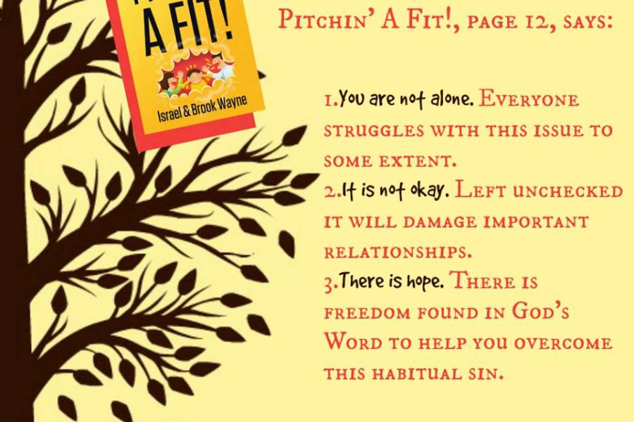 Pitchin' a Fit book discussion group