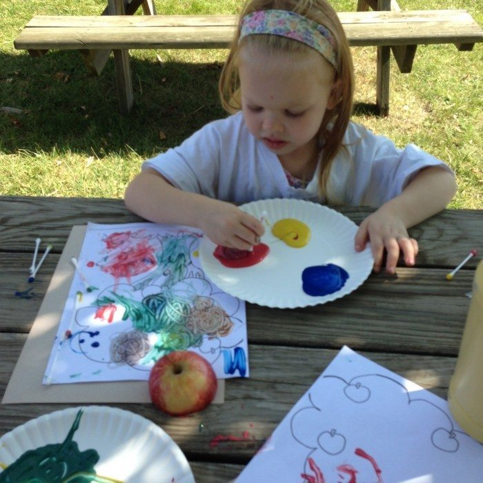 Preschool at homeschool co-op