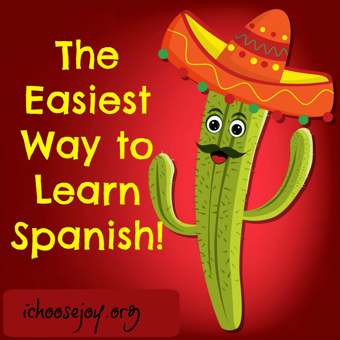 The Easiest Way to Learn Spanish!