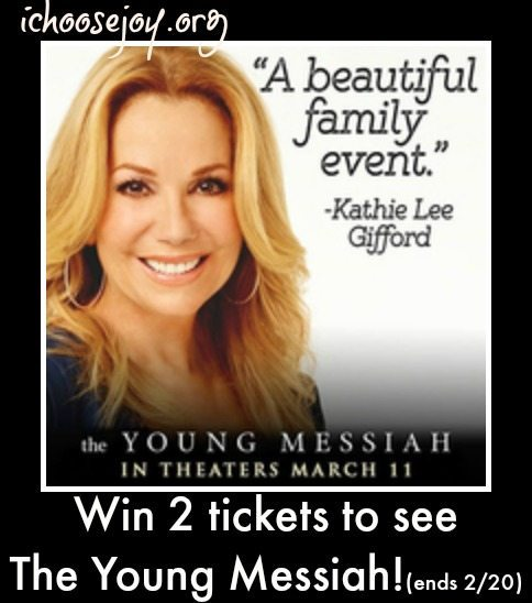 The Young Messiah ticket giveaway