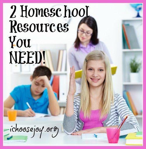 2 Homeschool Resources You NEED!