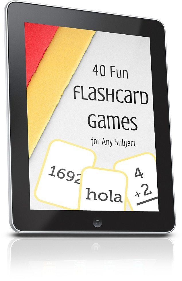 40 Fun Flashcard Games