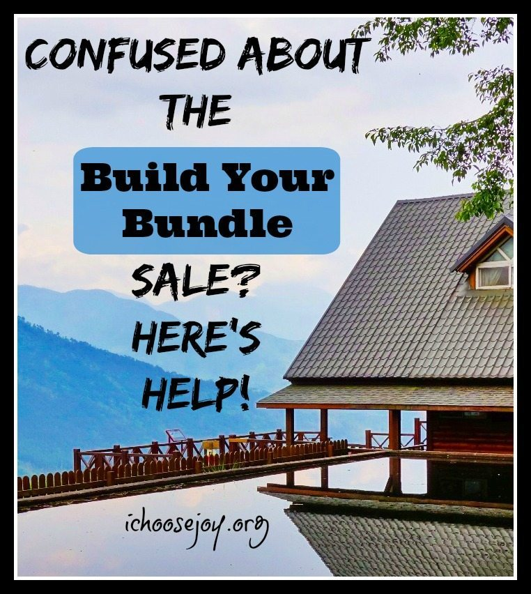 """Need Help With the """"Build Your Bundle"""" Sale?"""