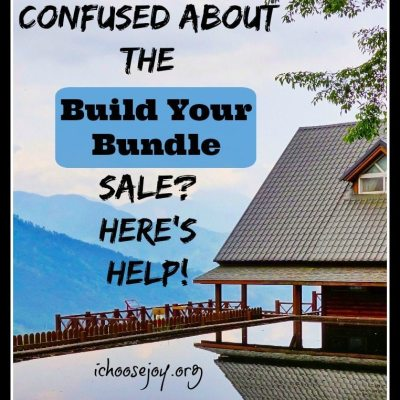 "Need Help With the ""Build Your Bundle"" Sale?"