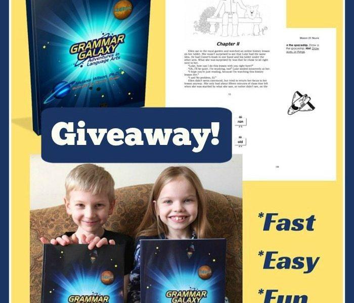 Giveaway of Grammar Galaxy- Language Arts Curriculum for Early Elementary ichoosejoy.org