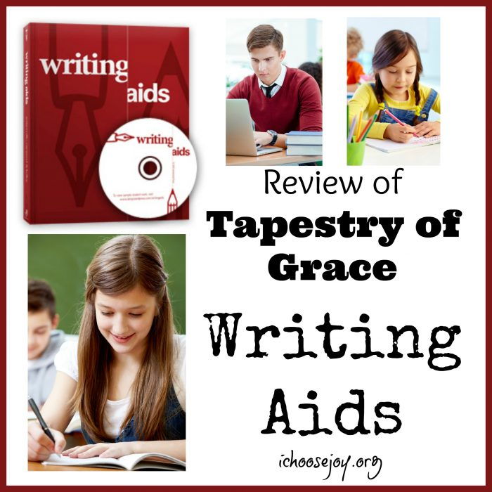 Review of Tapestry of Grace Writing Aids