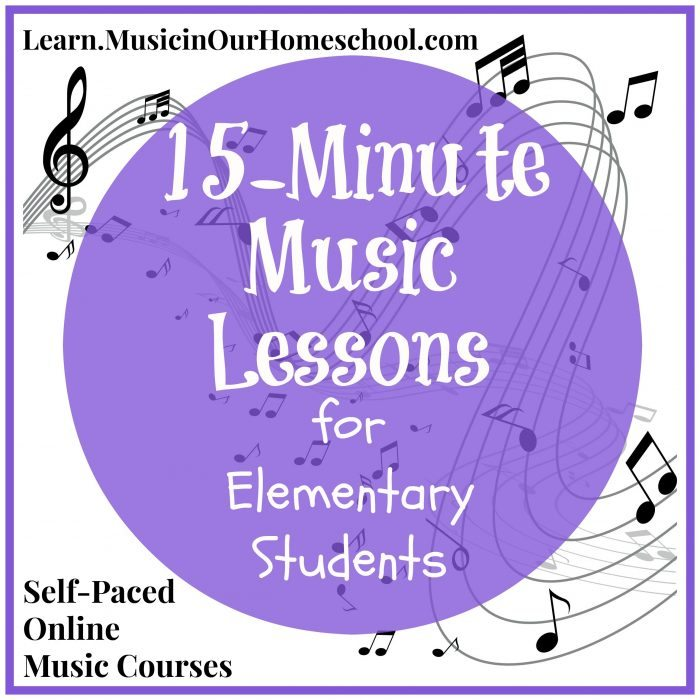 15-Minute Music Lessons for Elem Students