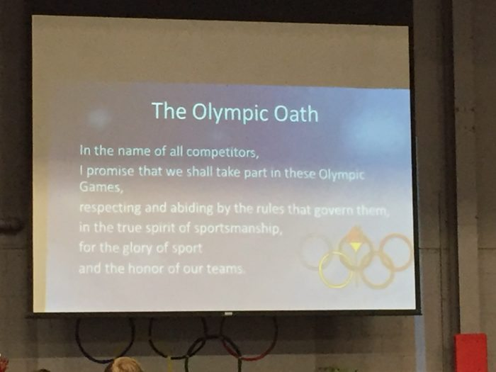 Olympic Games Event Oath