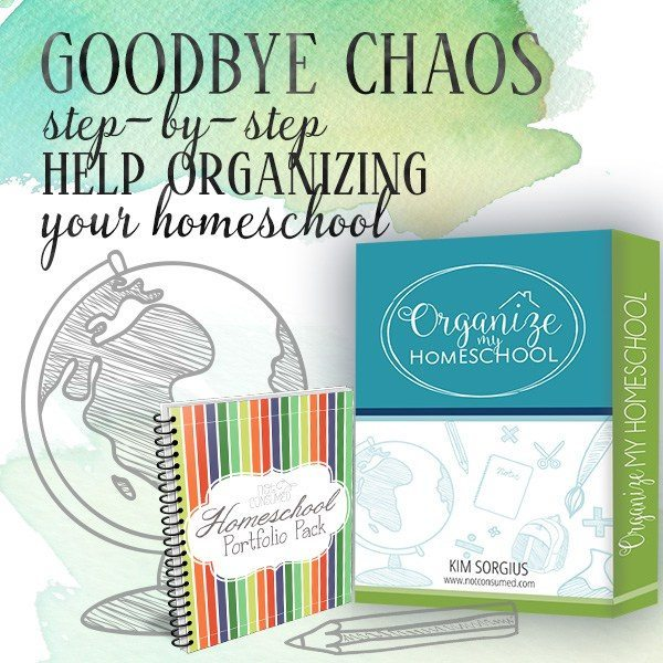 Organize My Homeschool course- introductory pricing