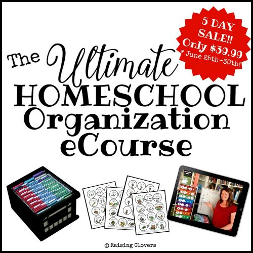 The Ultimate Homeschool Organization eCourse