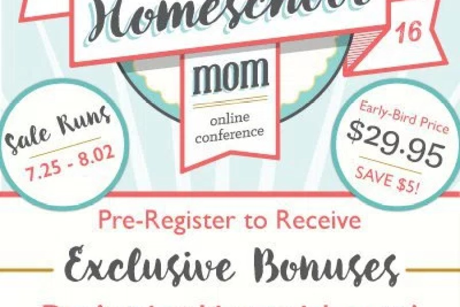 Homeschool Mom Online Conference