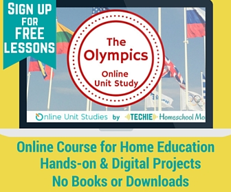 The Olympics Online Unit Study on sale!