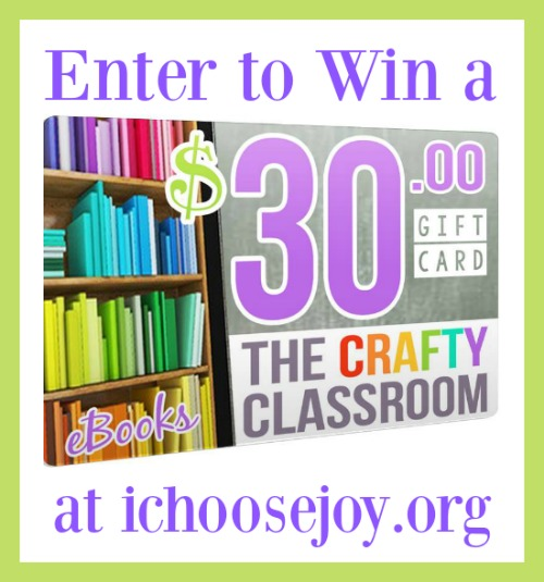 The Crafty Classroom $30 Gift Card Giveaway