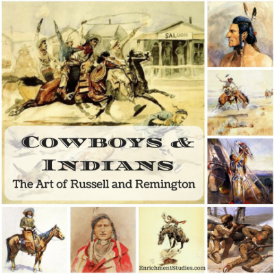 Studying Cowboys & Indians? Include this Art Collection Set!