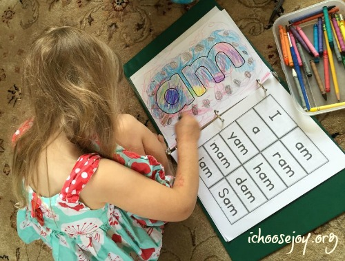 R.E.A.D. Ready, Eager, Able and Determined to Read kindergarten curriculum - My daughter loved this curriculum! From I Choose Joy! #kindergarten #phonics #firstgrade #ichoosejoyblog