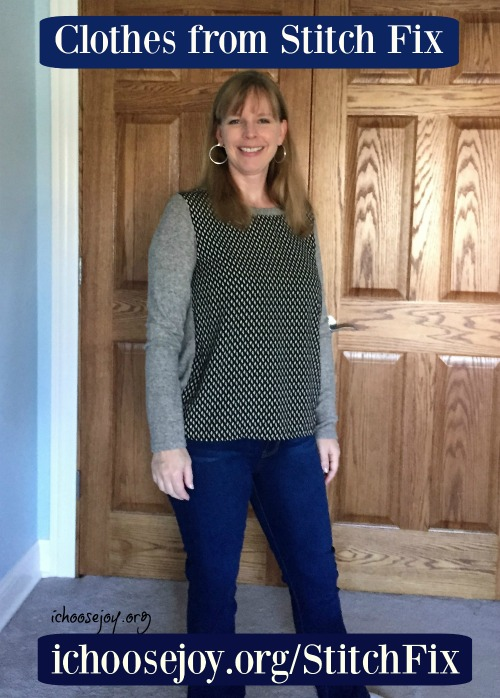 Clothes I got from Stitch Fix from a personal stylist