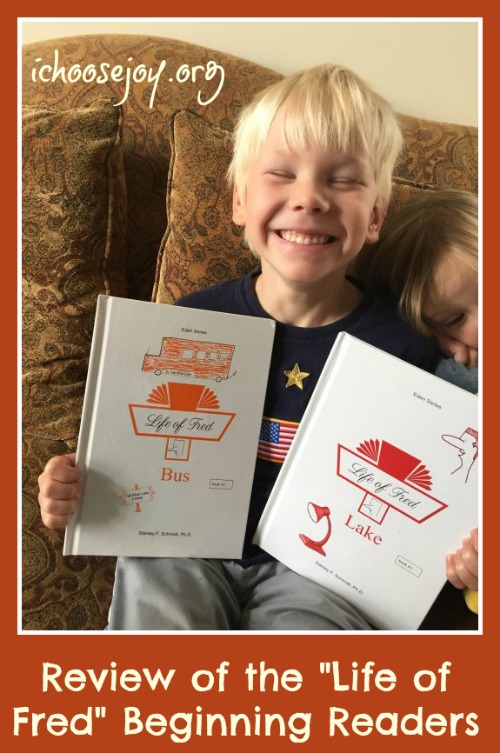 """Review of the """"Life of Fred"""" Beginning Readers"""
