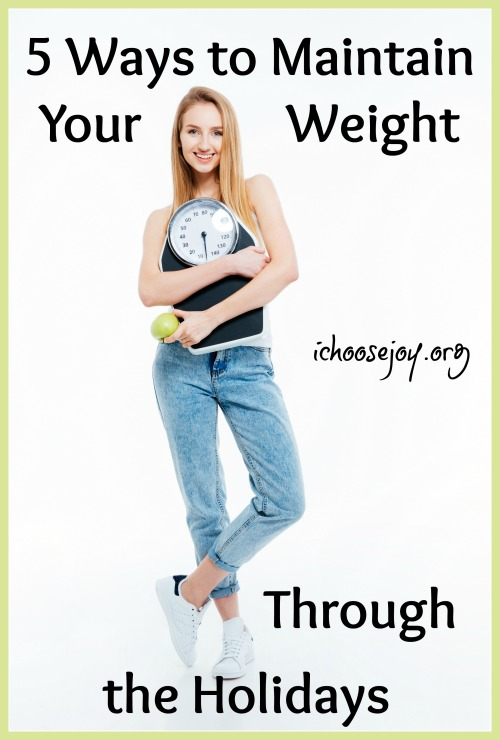 5 Ways to Maintain Your Weight Through the Holidays