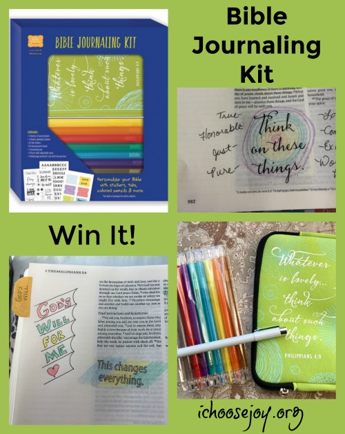 Bible Journaling Kit giveaway