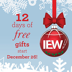 Get 12 Free Gifts from IEW