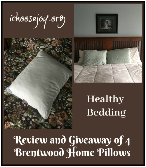 Sleep Wellness Pillow Bundle: Review and Giveaway of 4 Brentwood Home Pillows