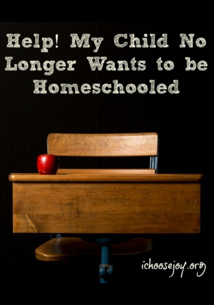 What to do when your child no longer wants to be homeschooled? Options, decision to make. #homeschool #homeschooling #homeschoollife #ichoosejoyblog