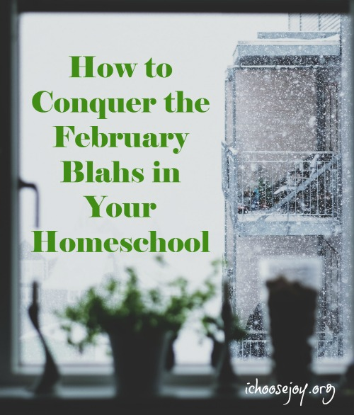 How to Conquer the February Blahs in Your Homeschool
