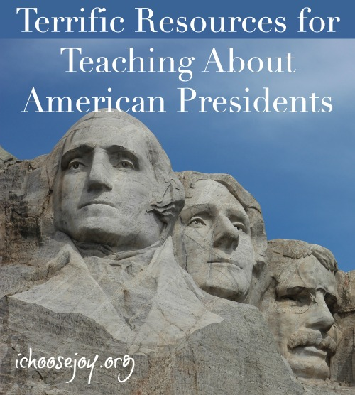 Terrific Resources for Teaching About American Presidents for President's Day or history studies