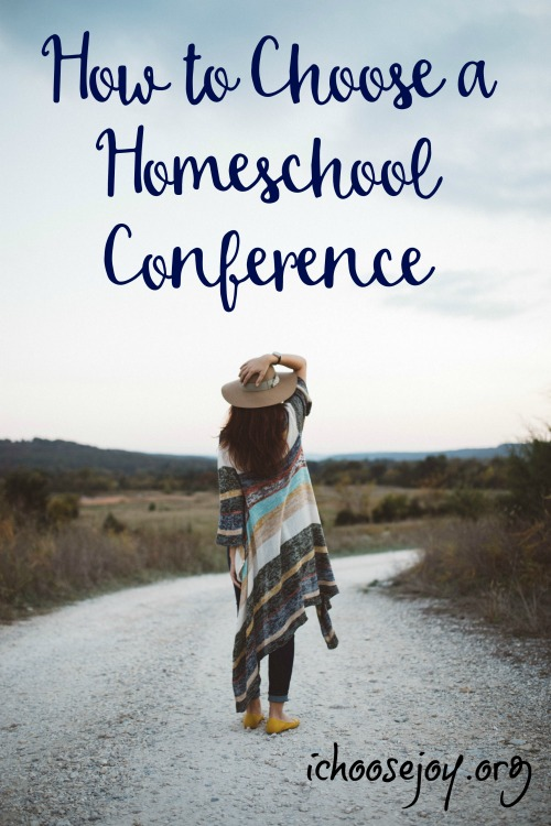 How to Choose a Homeschool Conference