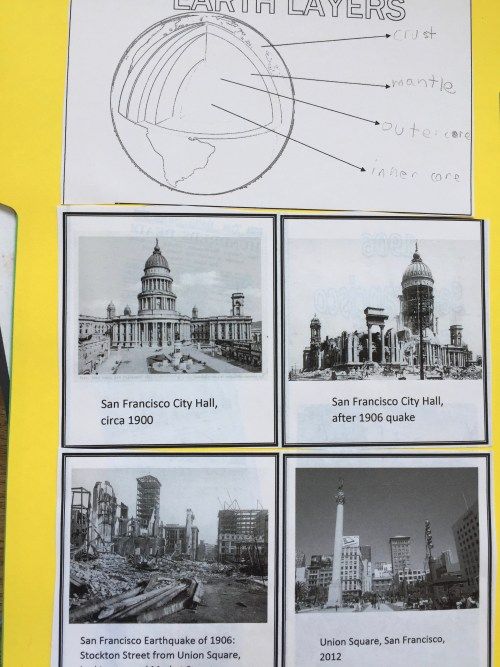 """Historical Stories of Survival, a review of the unit study by Justine Gamble about the 1906 San Francisco earthquake, based on the popular """"I Survived"""" book"""