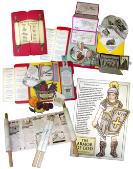 New Testament Activity Pack from Homeschool in the Woods, part of our Bible curriculum in our homeschool this year, from I Choose Joy1