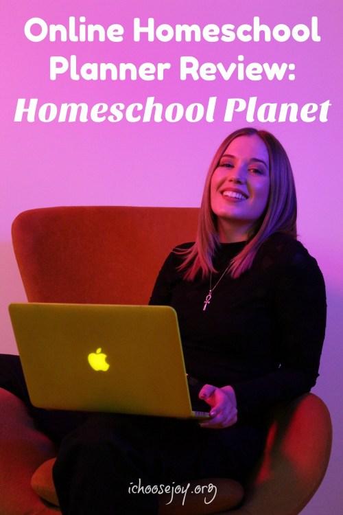 Online Homeschool Planner Review Homeschool Planet