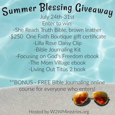 Why it's Beneficial to do Bible Journaling with a Free Bible Journaling Course & an awesome giveaway)