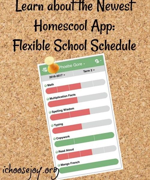 Planning with the Flexible School Schedule Homeschool App