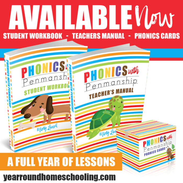 Phonics With Penmanship ~ New Curriculum for Preschool & Kindergarten