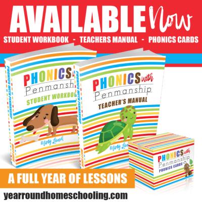 Phonics With Penmanship ~ New Curriculum for Preschool & Kindergarten