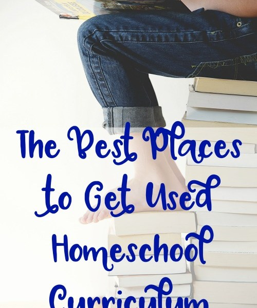 The Best Places to Get Used Homeschool Curriculum, from I Choose Joy!