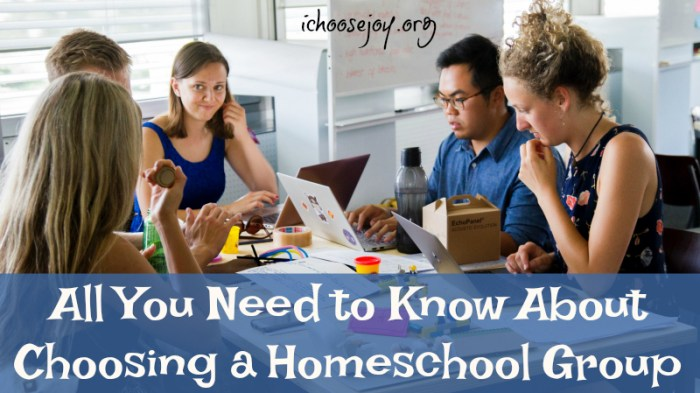 All You Need to Know About Choosing a Homeschool Group from a Veteran mom of teens, from I Choose Joy!