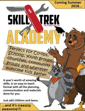 Skill Trek Academy for learning the skills you need in life. 100+ Online Courses The Ultimate Guide for Homeschool Success using online courses. #onlinecourses #homeschool #homeschoolcurriculum #ichoosejoyblog