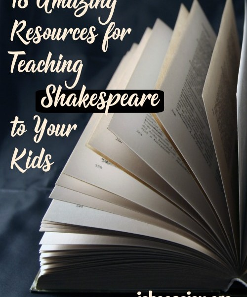 18 Amazing Resources for Teaching Shakespeare to Your Kids, from I Choose Joy!. Great resources for homeschoolers or classroom teachers to make Shakespeare easy and fun for all ages.