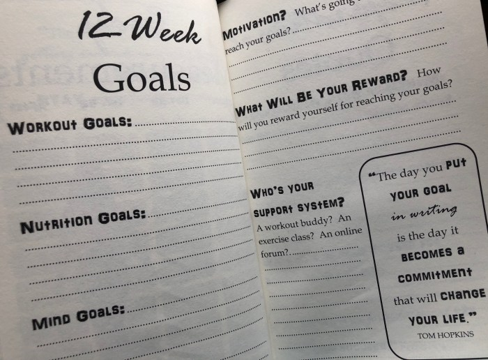 Get2Fit Journal A 12-Week Fitness Journal for Women