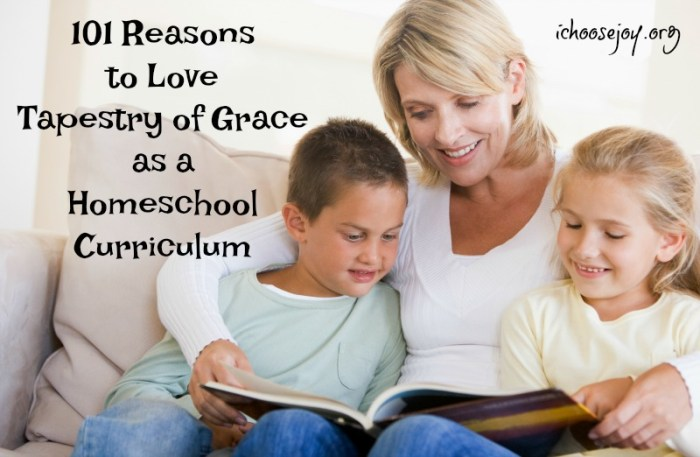 101 Reasons to Love Tapestry of Grace as a Homeschool Curriculum