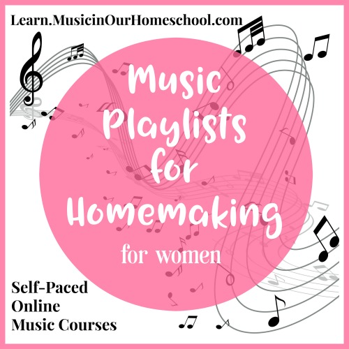 Music Playlists for Homemaking